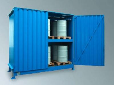 Wasserschutzfachcontainer