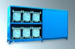Gefahrstoffcontainer für IBC